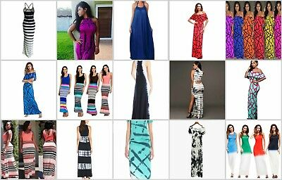 US SELLER-wholesale lot of 30 Boho Clothing Stores bohemian maxi dressess beach