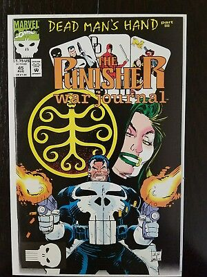 The Punisher War Journal #45 (Aug 1992, Marvel) NM 9.8 Combined Shipping