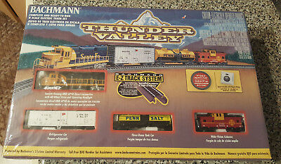 Bachmann Thunder Valley Ready-to-Run N Scale Train Set - New In Box!