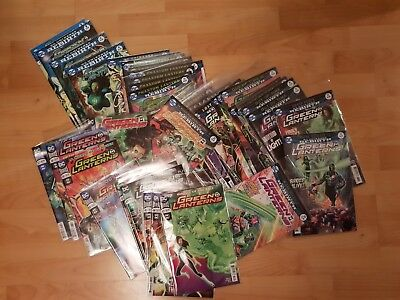 Green Lanterns Rebith issues #1-45 inc Green Lanterns Rebith #1