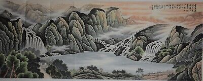 Spectacular Large Chinese Painting Signed Master Wei Zixi No Reserve A8307