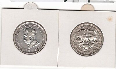 1927 Florin Parliament House (1 only) - George V - 92.5% Silver