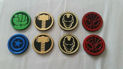 NEW Marvel Infinity Gauntlet Dig It Avengers Gem GOLD THOR Hammer CHARACTER COIN