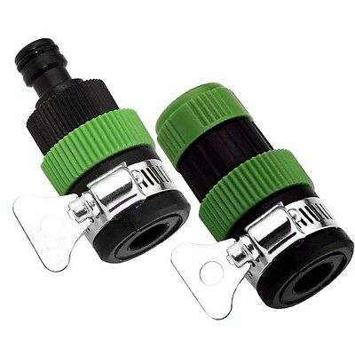 1X Tap To Hose Connector Universal Garden Wastering Fitting Attachment Kitchen