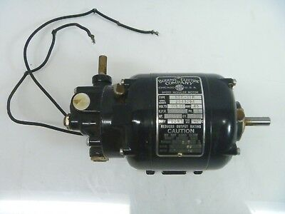BODINE ELECTRIC CO GEAR ac MOTOR nsp-11r  115 VOLTS reducer 18:1