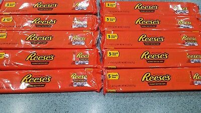 50 Reese's Peanut Butter Cups 10 - 5ct. Packs (50 cups) total Exp.2/2019