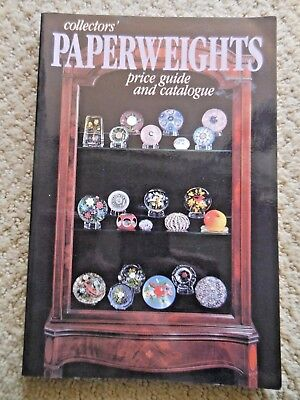 Collector's Paperweights Price Guide and Catalogue 1986 Selman Saint Louis Ysart