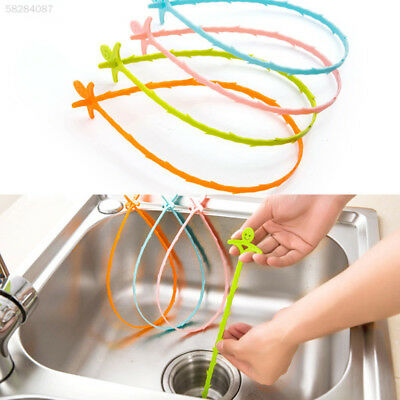 4CE5 Household Drain Aid Sink Sewer Dredge Pipeline Cleaning Hook Practical Clea