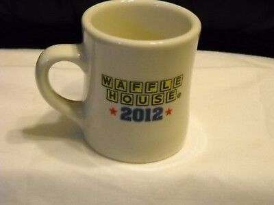 Waffle House Coffee Mug Thick & Heavy Vintage Diner Style By Tuxton