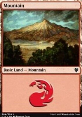 325 x4 Island MTG Commander 2014 L M/NM English