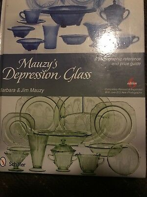 Mauzys Depression Glass: A Photographic Reference with Prices