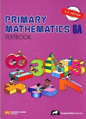 Primary Mathematics 6A Textbook U.S. Edition by NA
