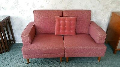 Art Deco Vintage/Retro lounge suite and three single chairs