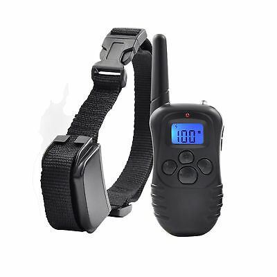 5 Mode Anti Bark Dog Training Collar Rechargeable Remote Control Stop Barking