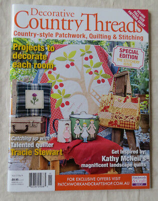 Decorative Country Threads, Patchwork, Quilting, Stitching