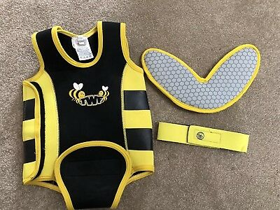baby wetsuit 12-18 Neoprene Wrap With Accessories