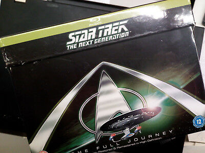 STAR TREK - THE NEXT GENERATION - Komplete Box / 41x Blu-ray OVP