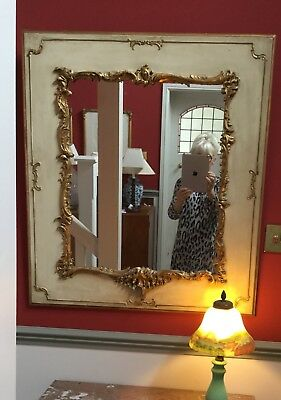 Gorgeous Antique French Gilded Mirror