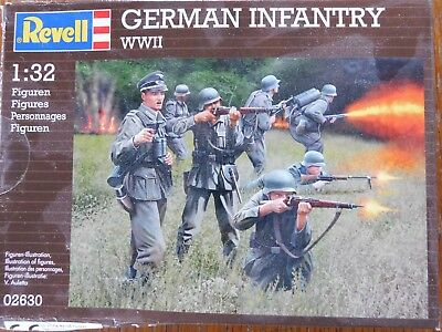 Bausatz Revell German Infantry 1:32