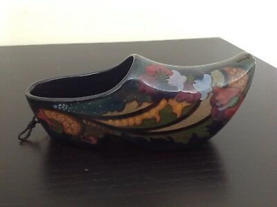 Gouda pottery Holland - Large Clog 8 inches in lengh
