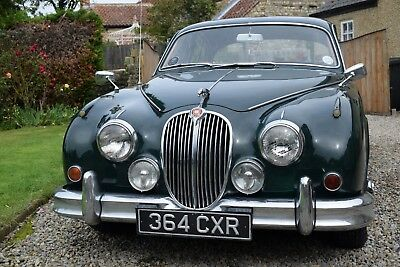 1961 Mark 2 Jaguar 2.4 - Highly Useable & Pretty, Manual, Overdrive Drives Well.