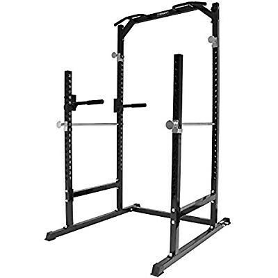 Mirafit Power Cage Home Gym including bench and weights