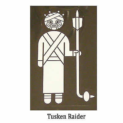 Star Wars Decal: Tusken Raider (75x130mm) aka sand people.