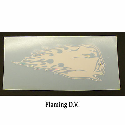 Star Wars Decal: Flaming Darth Vader (175x70mm)