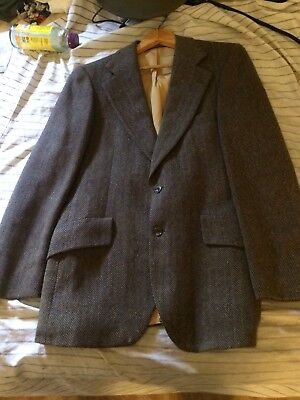VTG Donegal Magee Cashmere Wool Mohair Fleck Tweed Blazer Sport Coat 39 R RARE!
