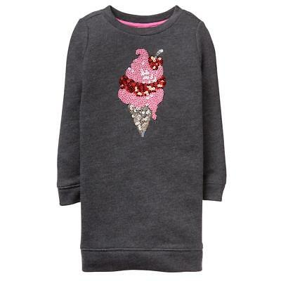 NWT Gymboree Sweetheart Shop Ice cream Dress Girls Long Sleeve 5/6,7/8,14