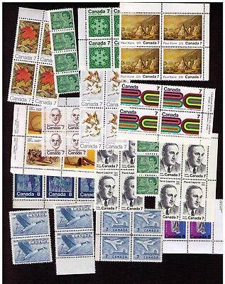 Canadian Stamps. Small Collection. Face Value $4. Mint Never Hinged. Lot#722
