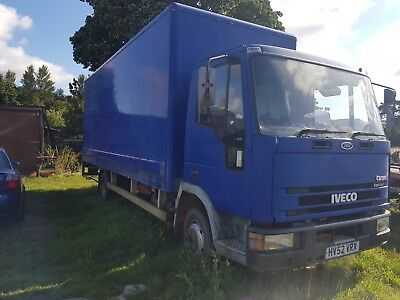 Iveco Euro Cargo Race Truck Box Lorry