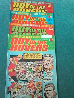 roy of the rovers comics 1984
