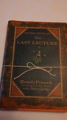 The Last Lecture by Pausch, Randy NATIONAL BEST SELLER hardback book