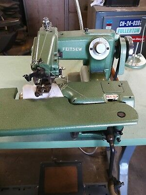 feitsew commercial blind stitch sowing machine