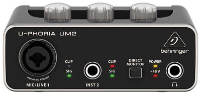 Behringer - UM2 - U-PHORIA 2x2 USB Audio Interface