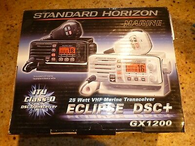 Standard Horizon GX1300W Eclipse Ultra Compact VHF - White  CANADA SELLER!