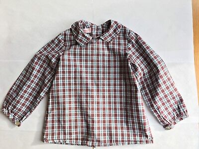 La Coqueta Unisex Checked Blouse/Shirt 18 Months