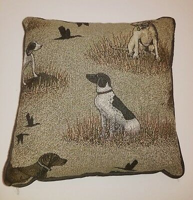 German Shorthaired Pointer Dog tapestry pillow by Golden Horn Creations new