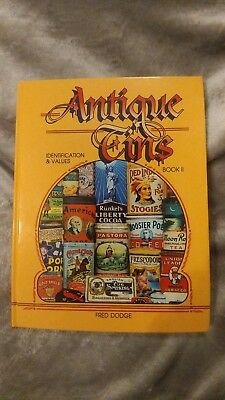 """""""Antique Tins Book II"""" by Fred Dodge"""