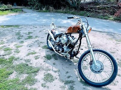 Harley s&s 93 cub/in 1528 cc hardtail chopper bobber