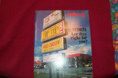 """Phillips 66 - """"Selling 66"""" magazine - 1982/ONE - C-Stores Are They Right for You"""