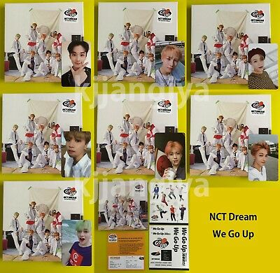 NCT DREAM 2nd Mini Album We Go Up Official Album with Photocard