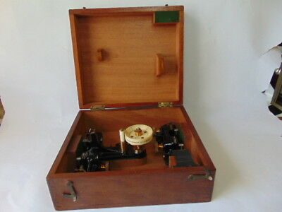 Rare Anttique 1908 Cambridge Instruments Extensometer Measuring Tensile Strength