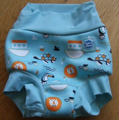 Baby Boys Splash About Happy Nappy Swimming Nappy Large 6-12 Months