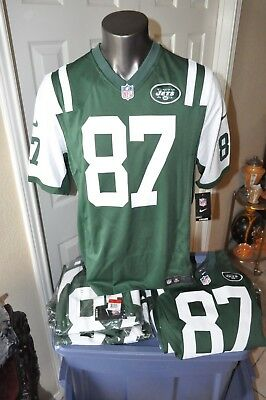 879a94bfe20 NWT AUTHENTIC New York Jets Eric Decker #87 Nike Jersey Green Vapor Size  Large