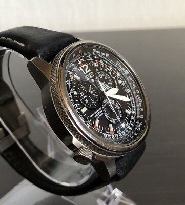 Citizen Promaster Eco Drive As4050 51e,Funkuhr, Pilotenuhr,Chronograph