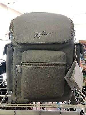 Ju-Ju-Be Ever Collection  Stone New, NWT Leather Backpack Forever Backpack