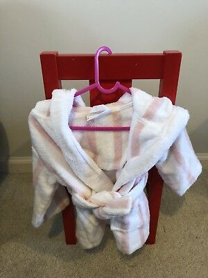 The Little White Company Baby Bathrobe Size 0-6 Months