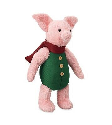 Disney Christopher Robin Piglet Plush Limited Release Soft Toy Winnie The Pooh